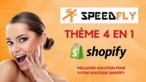 Speedfly Un des meilleurs thème shopify français de 2020