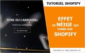 Tuto Comment décorer son site Shopify pour Noël